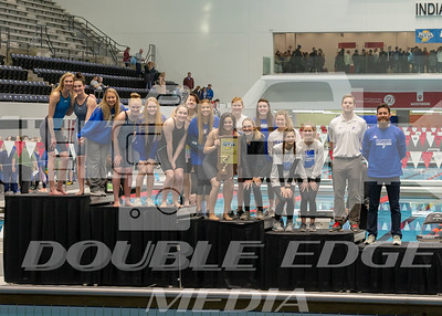 2nd Place podium_Franklin Central