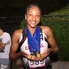 2 North Central's freshman strick gold in her first IHSAA State Track and Field as she won 200,400, 4x1 relay and 4x4 relay