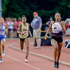 3 North Central's ran the anchor leg of the record setting 4x4 relay