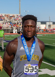 100 meters_1st place