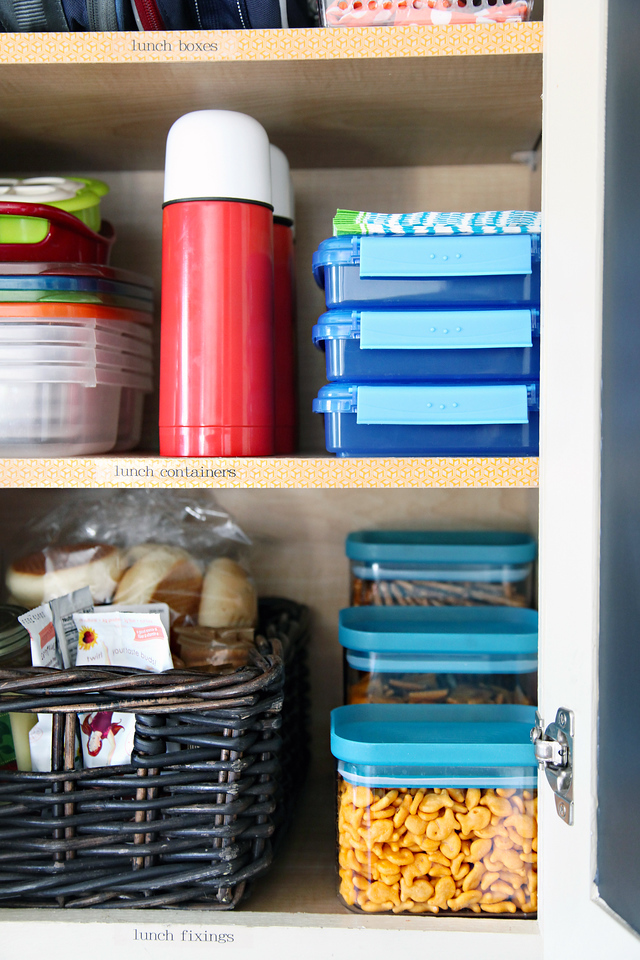 Back To School tips (Lunch Stations)
