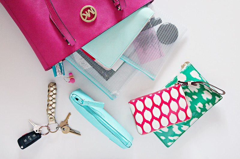 20 Ways To Organize with Pouches
