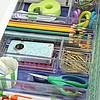 Organized School Supply Drawer