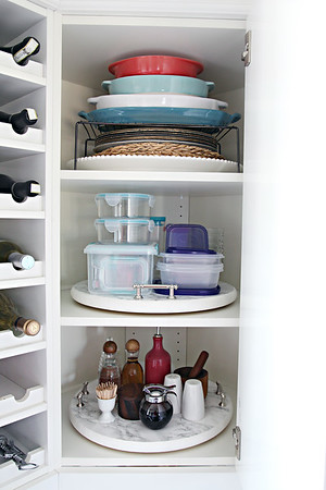 Kitchen Corner Cabinet Organization