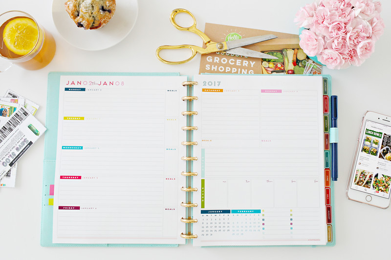 2017 Weekly Planner Printables