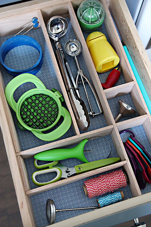 DIY Kitchen Drawer Dividers