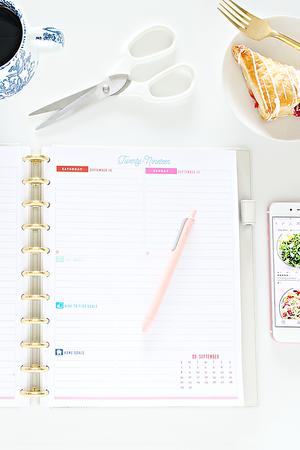 2019 IHeart Organizing Planner Printable