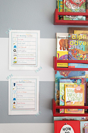 Back To School Organization (Free Bedtime & Morning Routine Printables)