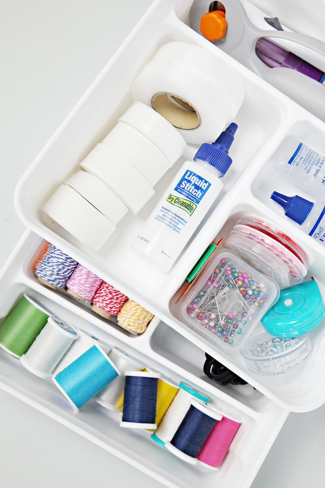 Organized Sewing Kit