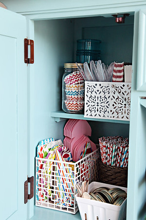 Dining Hutch Organization