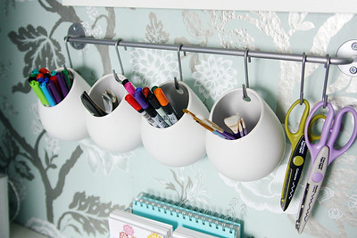 Closet Office Organization