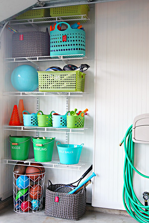 Kid's Garage Outdoor Toy Storage