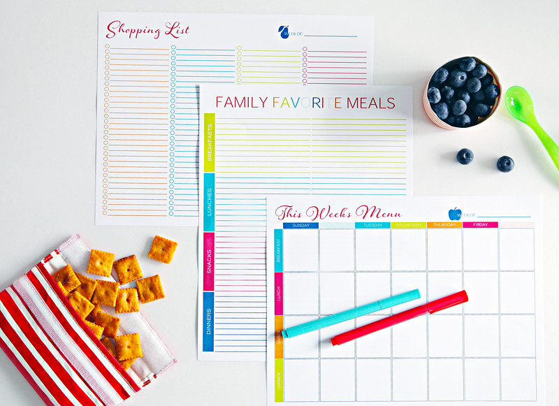 IHeart Organizing Meal Planning Printable Bundle