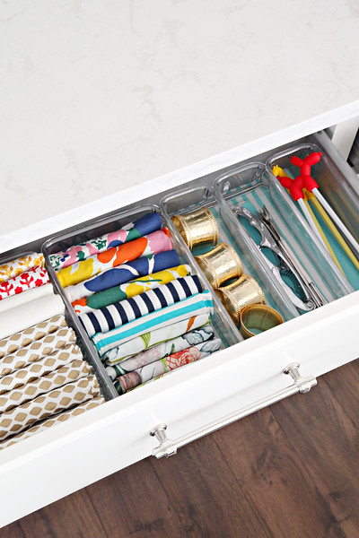 Organized Entertaining Drawers