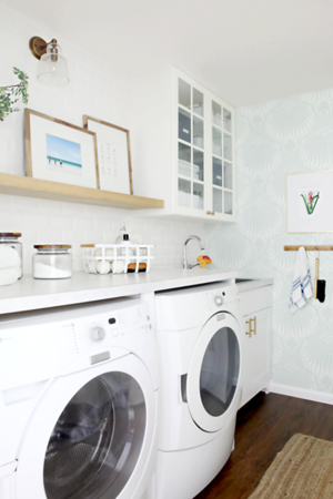 Our Organized Laundry Room