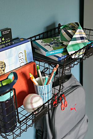 Teen Boy Bedroom Organization