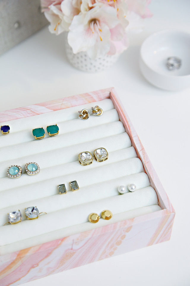 DIY Ring   Earring Organizer