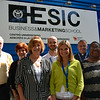 The representatives from the United States in front of the host -- ESIC Business and Marketing School of Valencia