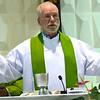Fr. Ed during Eucharist