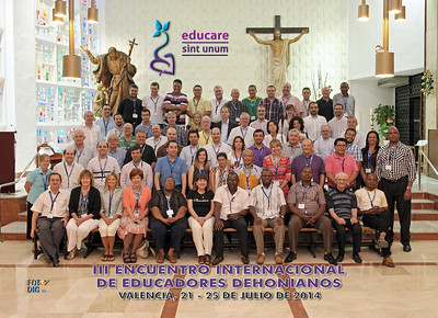 III International Meeting of Dehonian Educators, Valencia 2014
