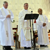 Fr. John, Msgr. Ross and Fr. Kus