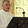 Msgr Ross was the main celebrant of the English Mass