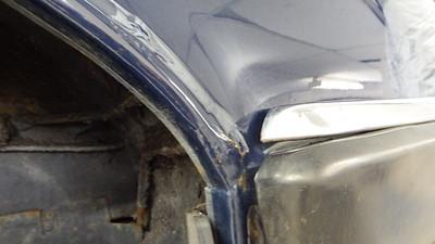 LHR Wheel Arch - Rust bubble