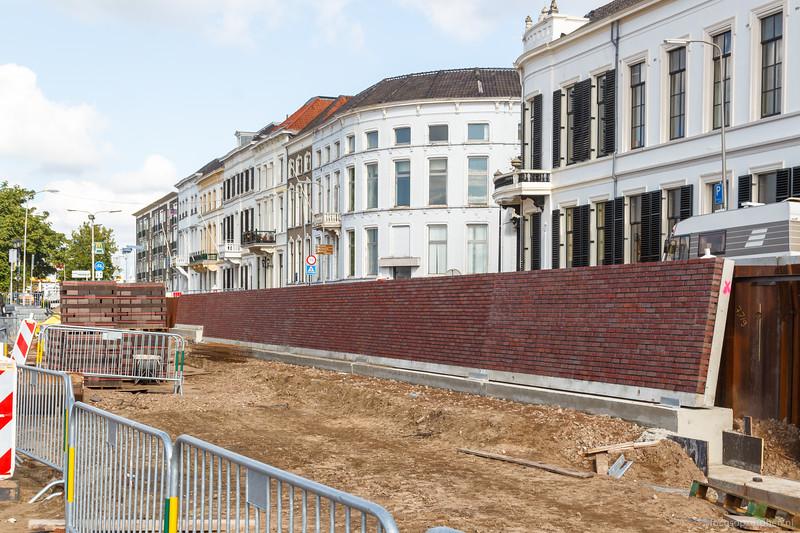 Kademuren werden opgemetseld in Noorderhaven