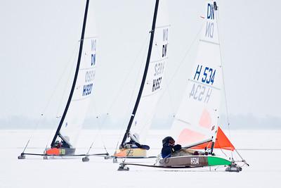 Jan Heida, ijszeilen