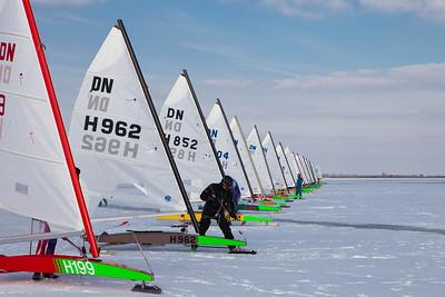 NK ijszeilen 2012