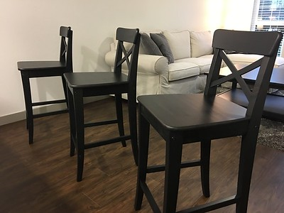 IKEA Apartment Furniture & Items - All Only 3 Months Old with Very Light Use
