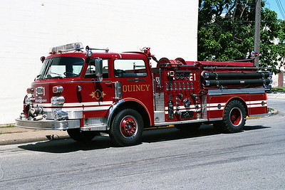 QUINCY FD  ENGINE 1 ALFCO