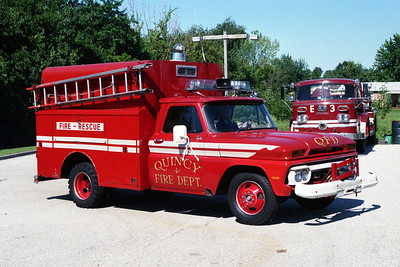 QUINCY FD  RESCUE  CHEVY