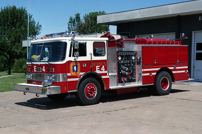 QUINCY FD  ENGINE 4  PIERCE
