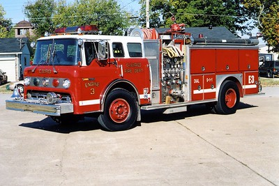 CAIRO FD  ENGINE 3  FORD C-E-ONE