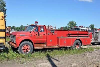 TAMMS  #PL-43  X-HARVARD FPD  1972  GMC - PIRSCH   750-1000   PL-43   SMITH BROTHERS PHOTO