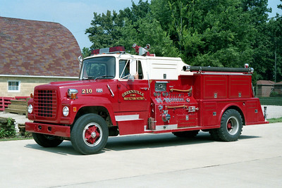 GREENVILLE  ENGINE  210  1972 FORD L800 - TOWERS  1000-750