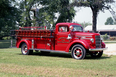 GREENVILLE  ENGINE  1942 MACK TYPE 45  500 - 250 OFFICERS SIDE   45S-1064