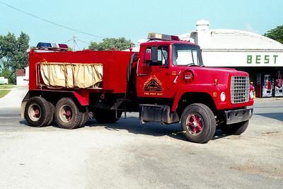 SHOAL CREEK  TANKER 245  1974 FORD L800 - FD BUILT