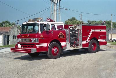 SHOAL CREEK  ENGINE 244  1980  FORD C8000 - PIERCE   1000-500  PANAMA STATION   E-0427
