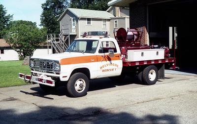 BELVIDERE  BRUSH 1  1974  DODGE POWER WAGON - FD BUILT   125-200