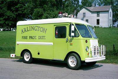 ARLINGTON RESCUE 1115  1967 GMC METRO VAN