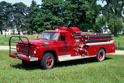 ARLINGTON ENGINE 1122  1968 FORD F - JOHN BEAN  500-500