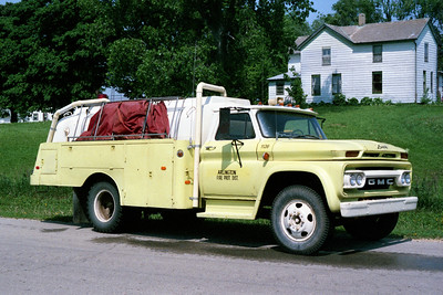 ARLINGTON TANKER 1126  1968 GMC - PROGRESS TANK  0-1350  X-MENDOTA FPD
