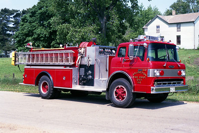 ARLINGTON  ENGINE 1122   1987 FORD C8000 - PIERCE   1000 - 1000   E-3684