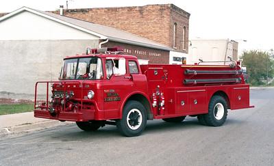BUDA  ENGINE 12  1974 FORD C-900 - BUDA FIRE EQUI[MENT   750-1250