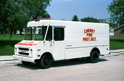 CHERRY  RESCUE 13  1974 GMC VALUE VAN