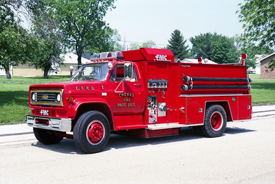 CHERRY  ENGINE 11  1983   CHEVY C60 - FMC  750-750