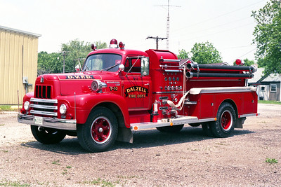 DALZELL  ENGINE 911  1954 IHC R190 - JOHN BEAN  750-500