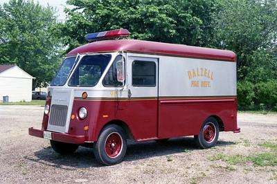DALZELL   RESCUE 915  1966 FORD STEPVAN    X-UPS VAN